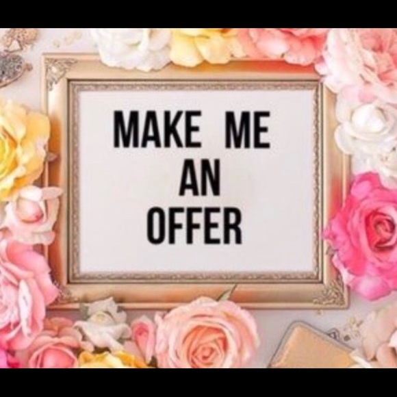 Other - All reasonable offers accepted or countered!